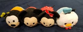 tsum tsum characters 3 inch Donald Goofy Mickey Minnie Mouse lot collect... - $17.82