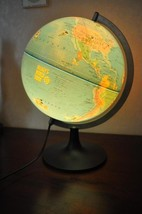Extremely Rare! Walt Disney Mickey Mouse Around the World Globe Statue O... - $218.30
