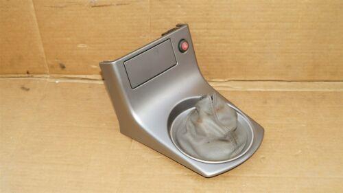03-04 Infiniti G35 Cpe Sdn Center Console Shifter Trim Bezel 5spd Manual Trans