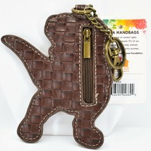Chala Handbags Faux Leather Tyrannosaurus Rex T-Rex Dinosaur Coin Purse Keychain image 2