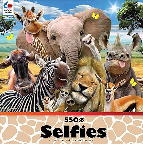 Primary image for Selfies: On the Savannah: Ceaco 550 Piece Jigsaw Puzzle