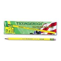 Ticonderoga Yellow Pencil, No.1 Extra Soft Lead, Dozen DIX13881 - $7.20