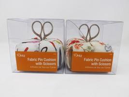 Dritz Fabric Pin Cushion with Scissors - New - $19.99