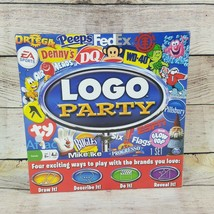 Logo Party Board Game Spin Master Family Night Teams Ages 8+ Brands New - $17.45