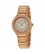 Michael Kors MK3443 Mini Kerry Rose Gold Glitz Womens Watch - £66.06 GBP
