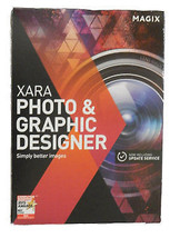 Magix - Xara Photo & Graphic Designer Software- NEW - $24.31