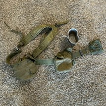 Vintage US Army Military Belt Harness & Accessories - $19.79