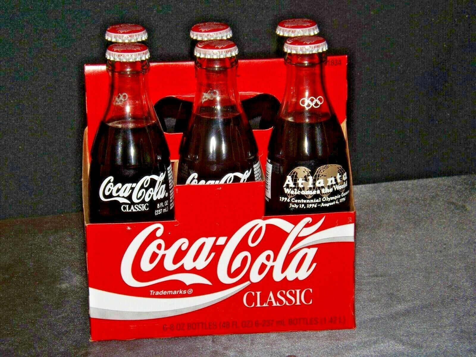 1996 Coca-Cola Classic Commemorative Bottle Series AA-191693 Vintage 49000-0813