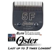 Oster Elite Titanium 5F Blade Fit A5 Turbo,A6,Andis Agc,Smc,Dblc,Wahl Km Clipper - $50.48