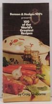Benson & Hedges 100's presents 100 of the World's Greatest Recipes - $4.50