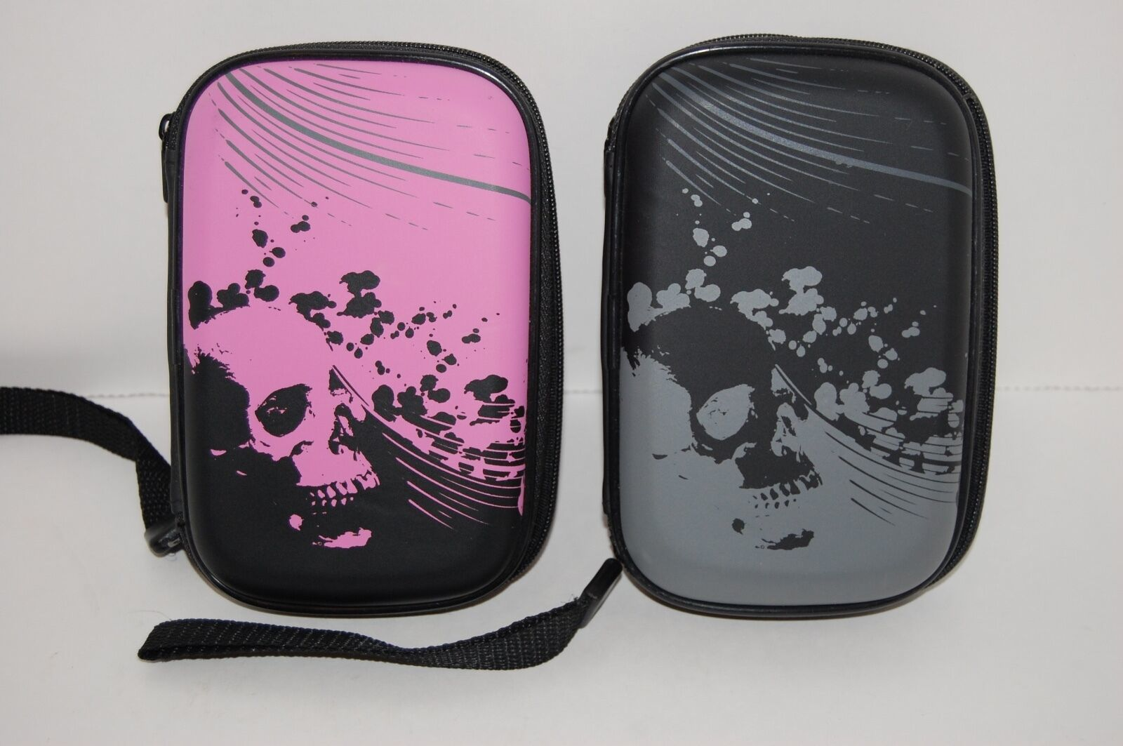 Primary image for Nintendo DS Carrier Cover Skull Graphic Cases Pink and Black selling as a lot