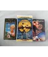 Vintage VHS Kassetten Movies 2000 Walt Disney World,Riverdance,The Shell... - $38.77