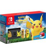 Nintendo Switch Pikachu & Eevee Edition with Pokemon Let's Go,Pikachu!!! - $999.99