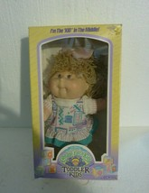 Vintage 1987 Coleco Cabbage Patch Kids Toddler Kids with Box 4550 - $53.20