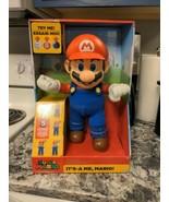 Super Mario Bros. It's-a Me, Mario! Action Figure2020 Jakks NEW - $59.40