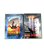 Superman 2 (1980) and Die Hard One (2004) Back to Back Action Movies Bra... - $14.01