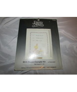 Precious moments sampler kit Baby Birth record announcement Paragon crea... - $8.90