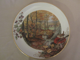 THE COLOURS OF AUTUMN IN OCTOBER collector plate PETER BARRETT Country Year - $35.00
