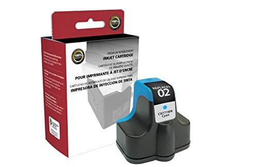 Inksters Remanufactured Ink Cartridge Replacement for HP 02 Cyan C8771WN (HP 02) - $13.69