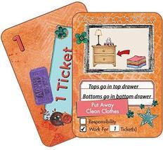 NEATLINGS Self-Care Chore Deck | Reward Responsibility | Orange - $12.95