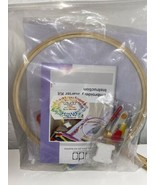 NEW Caydo Embroidery Starter Kit Accessories Hoops Threads Tools Instruc... - $28.04