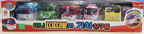 Youngjin Toys Pullback Pull Back Wind up Mini Train Ddiddi Ppo Honk Honk Toy Veh