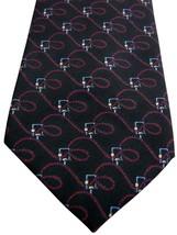BROOKS BROTHERS – BROOKSGATE Tie Black - Twisty Ropes - SKINNY - $22.14