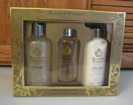 Russell & Windsor Rose Gold & Amaranth Body Care Gift Set Lotion/Body Oi... - $13.85