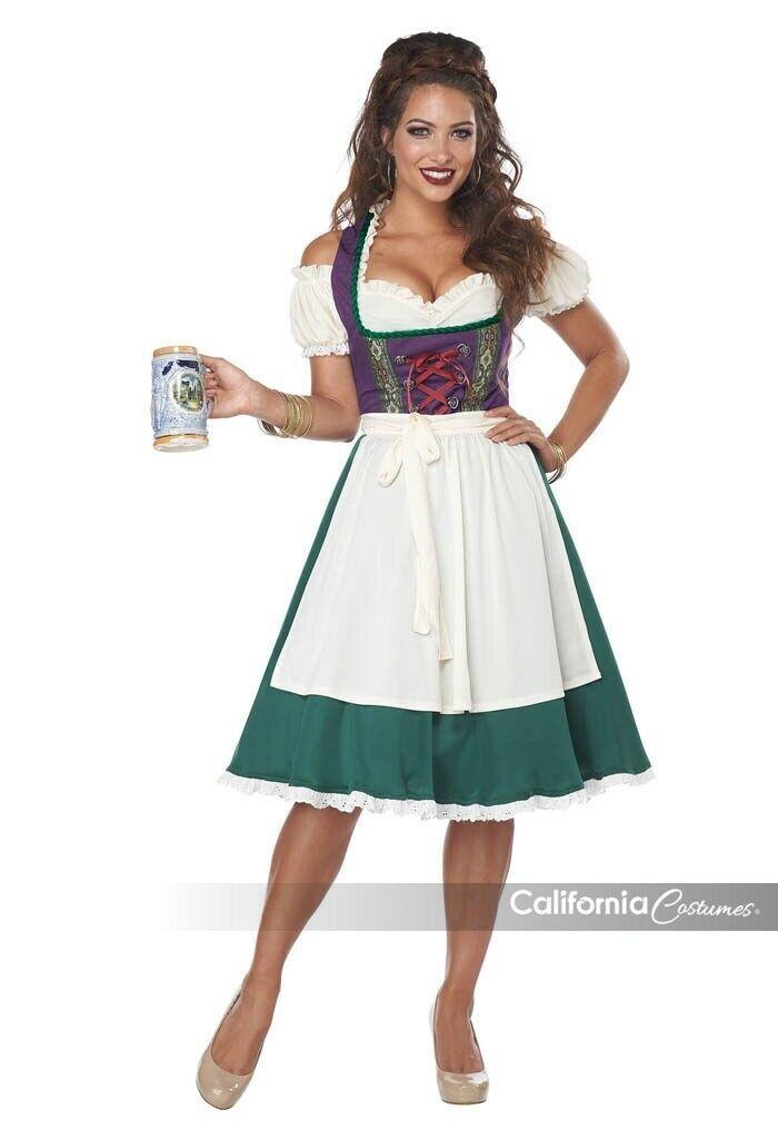 California Costumes Bayrisches Bier Maid Damen Oktoberfest Halloween Kostüm