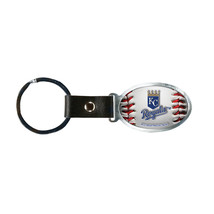 Non Metal Mlb Kansas City Royals Accent Key Ring By Rico Industries (Len... - $12.32
