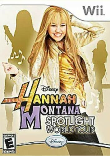 Hannah Montana: Spotlight World Tour (Nintendo Wii, 2007)