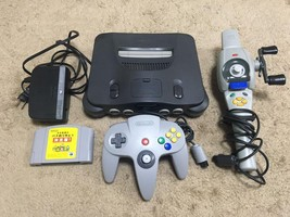 Nintendo 64 N64 Game Console System 1 Controller,1 Fishing Controller 1 software - $98.00