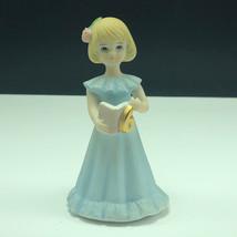 ENESCO GROWING UP BIRTHDAY GIRLS vintage porcelain figurine statue sculp... - $15.84