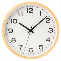 MUJI Wall hanging clock Plain Beech wood Natural Analog Clock Quarts - €120,15 EUR