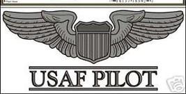 Usaf Air Force Pilot Car Decal Military - $13.53