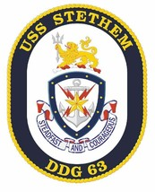 USS Stethem Sticker Military Armed Forces Navy Decal M226 - $1.45+
