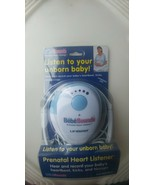 Bebe Sounds Prenatal Heart Listener UNISAR Listen To Your Unborn Baby,Ne... - $46.71