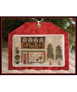 Florist release #8 Hometown Holidays cross stitch Little House Needleworks - $5.40