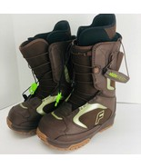 Forum League SLR Snowboard Boots Brown Men's Size 6 Lining Step In - $118.79