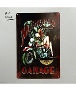 dingleiever DL- Motorhead Garage Made In USA Tin Sign Gas - $17.95