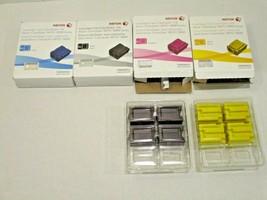 Black SEALED ColorQube 8870 Solid METERED Ink Set CMYK Cyan Yellow Magenta