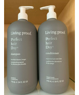 Living Proof Perfect Hair Day Shampoo & Conditioner 24oz DUO! Same Day S... - $94.99