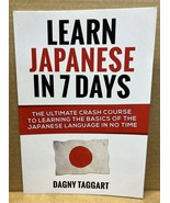 Learn Japanese in 7 Days (Paperback, 9781500209643) - $399.99