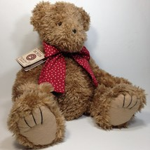 "Boyds Bears Howard McBeansley Plush Teddy RARE QVC Exclusive Chenille Bear 19"" - $199.00"