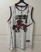 Nike Toronto Raptors Jersey Tracy McGrady Size 54 2XL XXL White Stitched... - $89.09