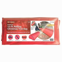 Simple Living Innovation Rolling 7.5 ft Christmas Tree Storage Bag 3 Casters NEW