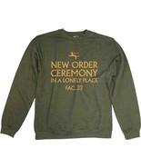 New Order-Ceremony-XXL Green Crew Neck  Sweatshirt - $24.18