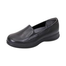 PEERAGE Olivia Women Adjustable Wide Width Leather Comfort Everyday Loafer - $79.95