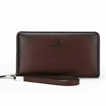 Male Leather Purse Men's Clutch Wallets Handy Bags Business Carteras Mujer - $25.50