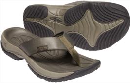Keen Kona Flip Size US 9 M (D) EU 42 Men's Sport Sandals Dark Olive/Blac... - $50.81